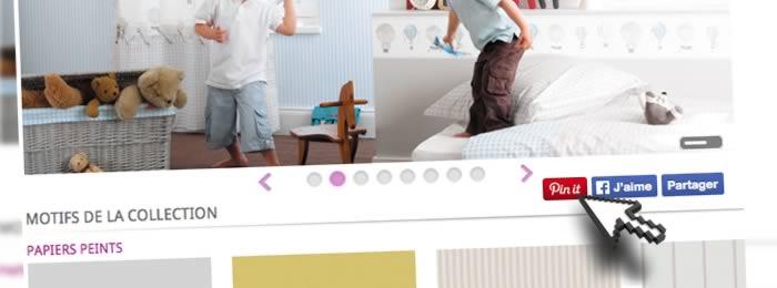 Ajouter un bouton Pin it pour épingler les images d'un diaporama slider iView